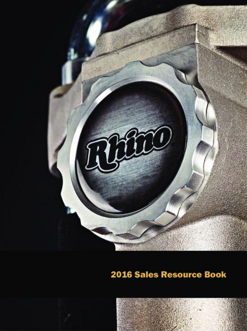 Rhino Post Driver Selection Chart