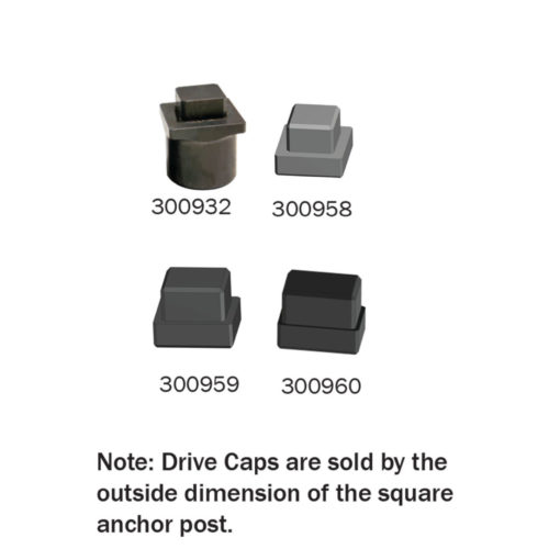 Drive Caps for Rhino Post Driver